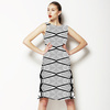 Mono Tribal Stripe (Dress)