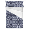 Navy Bohemian Ethnic Print (Bed)