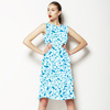 Mini Floral Chinese Tile Inspired (Dress)