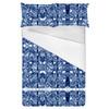 Navy Bohemian Kaleidoscopic Print (Bed)