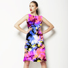 Tie Dye Floral (Dress)