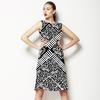 618 Ethnic Bold Marks (Dress)