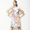 617 Expressive Floral Print (Dress)