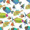 Happy Fish (Original)