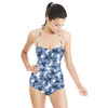 High Blue Blossom (Swimsuit)