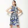 Geometric, Cuadros, Triangulos, Vigore (Dress)