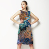 Swirly Copper Paint (Dress)
