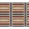 Unique Encaustic Mirrored Stripes and Checks (Original)