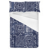 Floral Indigo Tile (Bed)
