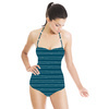Bobbi 02 - Textured Stripe (Swimsuit)