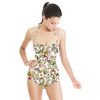 Vintage Tropical Pattern (Swimsuit)