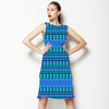 Geometric Sea (Dress)