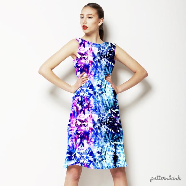 Kaleidoscopic Fashion Pattern