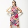 Hand Painted Summer Floral (Dress)