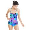 Orchid Mix Print (Swimsuit)