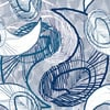 Paisley and Blue (Original)