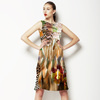 Leopard Skins With Flower 2 (Dress)
