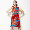 Red Flower Motif (Dress)