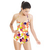 Floral Abstract (Swimsuit)