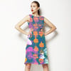 Graphic Ogees and Roses (Dress)
