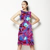 Linear Floral Buds (Dress)