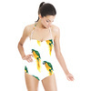 Hand Painted Watercolour Parrott Print (Swimsuit)