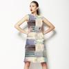 Industrial Watercolour Blocks (Dress)