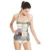 Industrial Watercolour Blocks (Swimsuit)