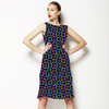 Mixed Circle Colorful Graphic Party 2 (Dress)