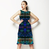Blue Abstract Texture (Dress)