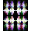Pixellation Carousel Tendons Catch Stained Glass Light (Original)