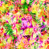 Abstract Tropical Floral (Original)