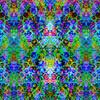 Rainbow Floral Interlace (Original)