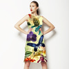 Large Scale Tropical Floral (Dress)