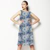 610 Floral Tiles (Dress)