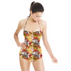 Checked Pattern Cluster (Swimsuit)