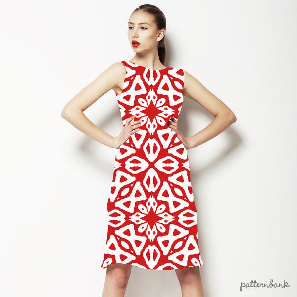 Geometric Print in an Ethnic Style