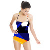 Abstract Geometric Lines 3 (Swimsuit)