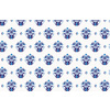 Hand Drawn Indigo Baroque Pattern in Repeat Pattern (Original)