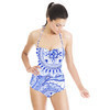 Blue Mixed Pattern (Swimsuit)