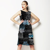 Painterly Abstract Dark Floral (Dress)