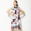 Soft Dahlia Florals (Dress)