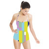 Geometrical Pattern (Swimsuit)