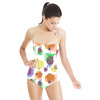 Fun, Whimsical and Colorful Fruit Design in Repeat (Swimsuit)