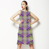 Iris Flame Plaid (Dress)