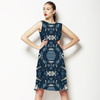Intricate Indigo (Dress)