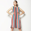 Soft Painted Stripe (Dress)