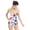 Abstract Floral Pattern (Swimsuit)