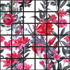Flowers Behind the Greed Seamless Pattern (Original)