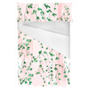 Hand Painted Watercolour Green Blossom (Bed)